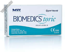 Biomedics Toric UV